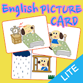 English picture card [I DO]