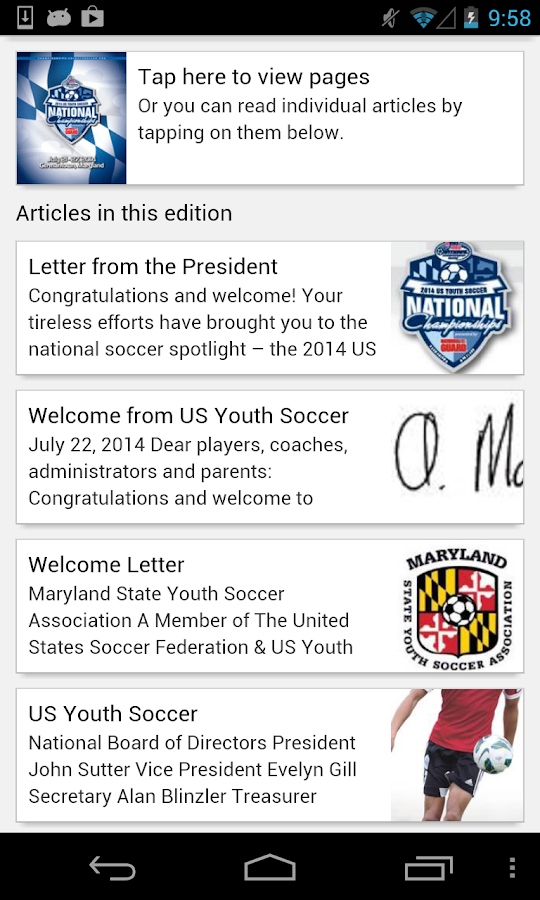 US Youth Soccer's FUEL Soccer- screenshot
