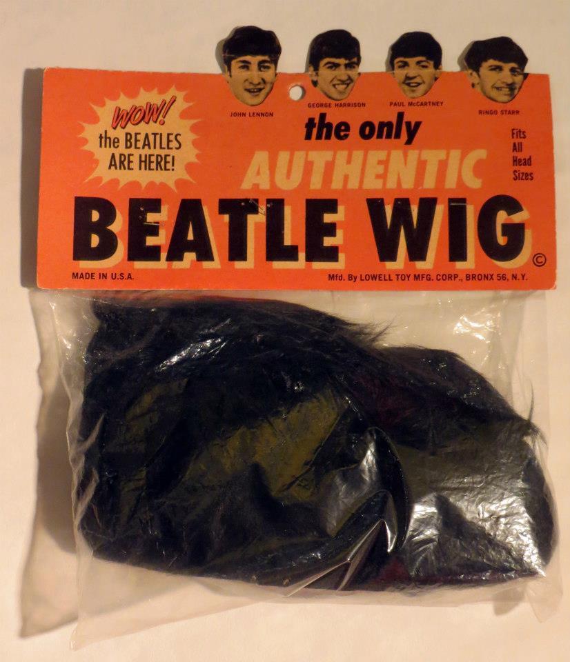 Liverpool Beatles Auction  Beatles Wig. f47cbb451af0