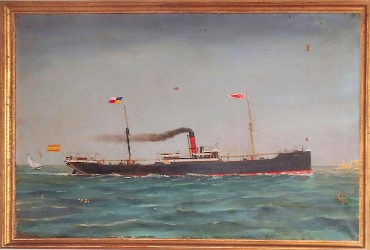 Óleo donado por Salvador Domenech Cert, Agente de Aduanas, al Sr. Joaquín Maria Tintore. De la web LINEAS MARITIMAS TINTORE.jpg