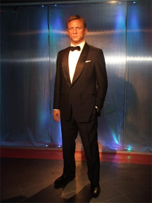 Daniel Craig model at Madame Tussauds