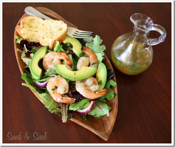 Honey-Lime Grilled Shrimp and Avocado Salad