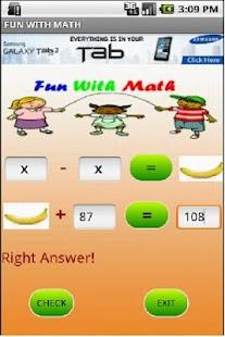 Fun With Math- screenshot thumbnail
