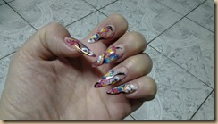 nail art stiletto