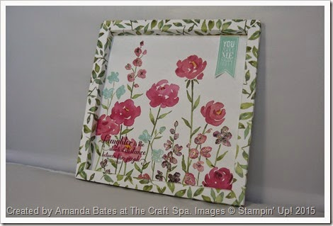 Painted Blooms Box Frame Feb 2015 by Amanda Bates at The Craft Spa  (6)
