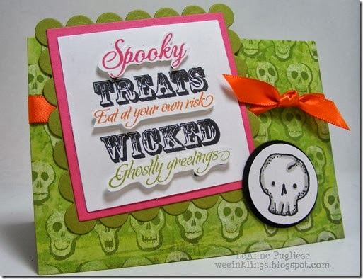 LeAnne Pugliese WeeInklings Halloween Creative Time