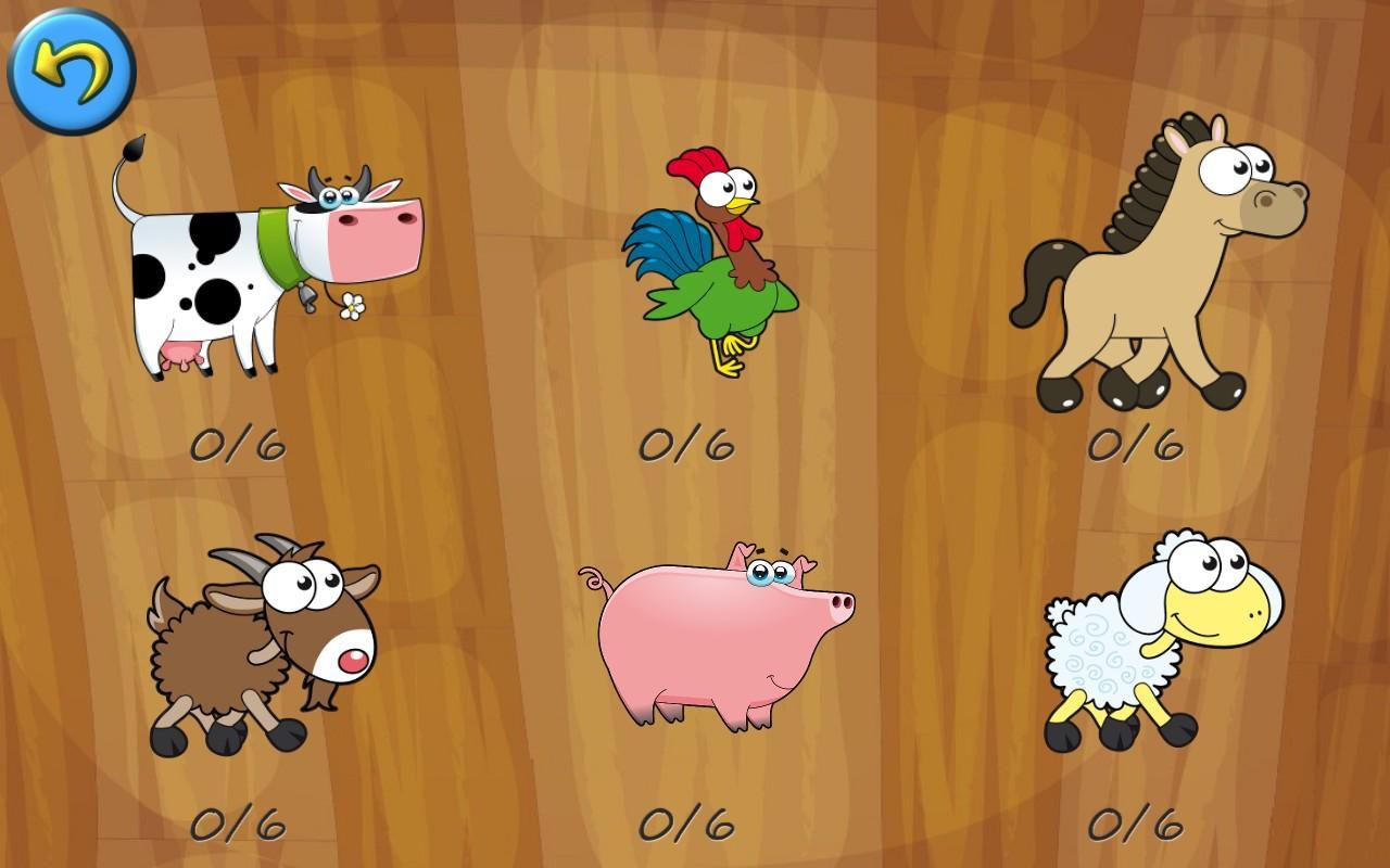 Farm Animals For Kids Farm Animals Pu...