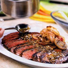 Mojo Marinated and Grilled Flank Steak