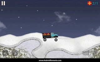 Screenshot of Truck Delivery Winter Edition