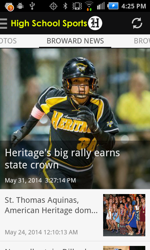 Herald High School Sports- screenshot