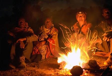 Trekking Muntii Simien - Etiopia: In jurul focului la Sona sub clar de luna