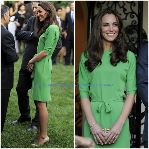 Kate Middleton- mingles with guests during a private reception at the British Consul-General's residence (3)