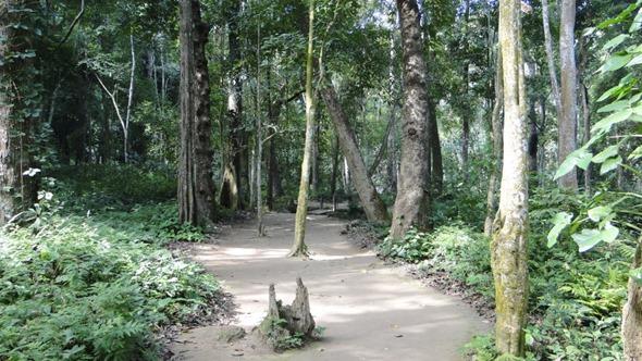 Trilha no Parque de Kuang Si