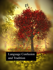 Language Confusion and Tradition Cover