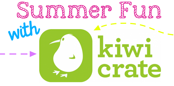 Summer Fun with Kiwi Crate #KiwiSummerFun #ad GingerSnapCrafts.com