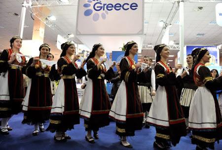 Stand Grecia cu dansuri grecesti