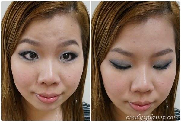 miss hana gel eyeliner review galaxy black