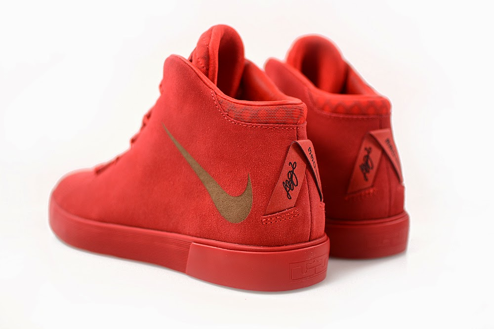 "new arrival 91a53 d83ab ... ""Challenge Red"" LeBron XII NSW Lifestyle Drops in Europe This Week"