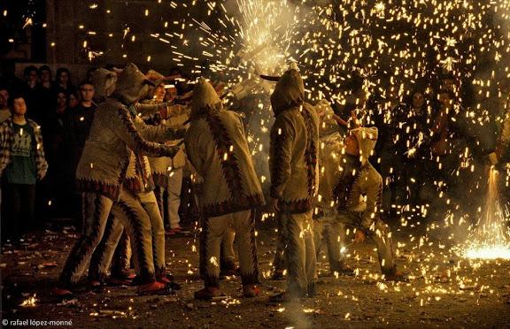 Ball de Diables de Tarragona. Festes de Santa Tecla. Tarragona, Tarragonès, Tarragona 2000.09