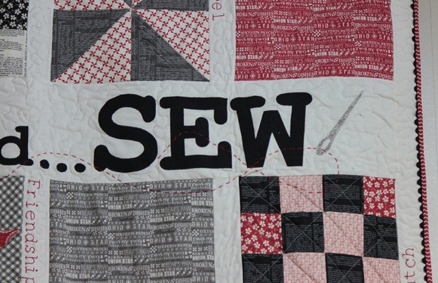 Mama Said Sew quilt kit & pattern