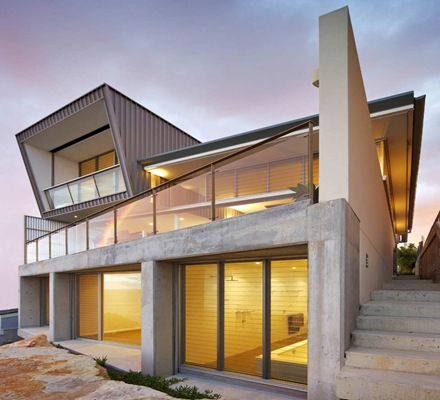 casa-contemporanea-Queenscliff-Utz Sanby-Architects