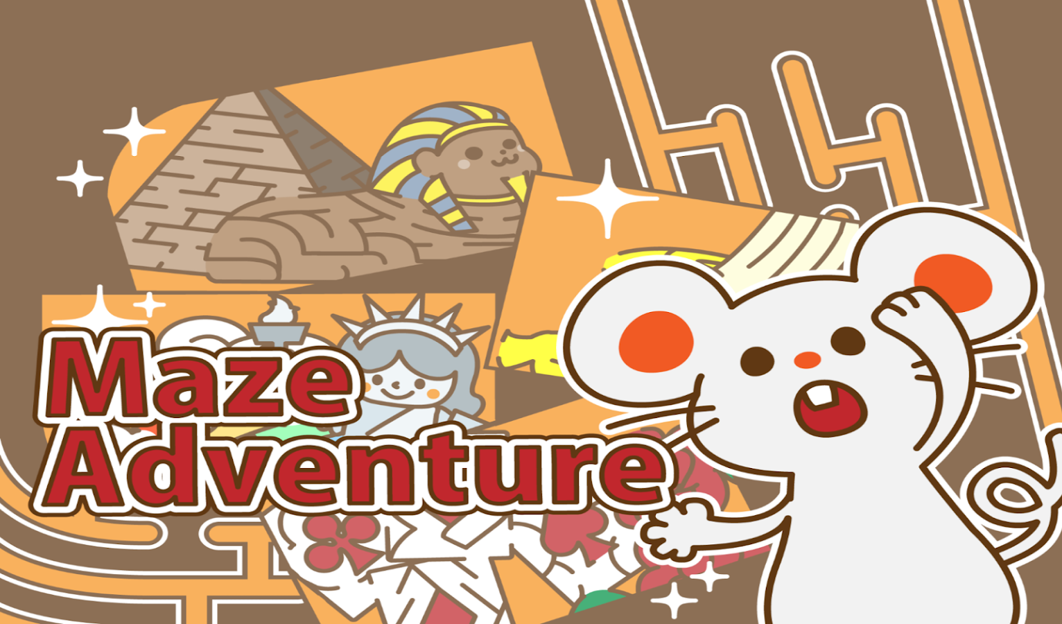 Maze adventure :For kids(Free) - screenshot