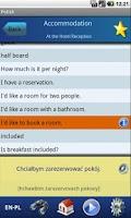 Screenshot of EasyTalk Learn Polish Free