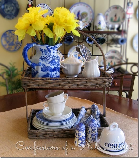 CONFESSIONS OF A PLATE ADDICT Spring Centerpiece