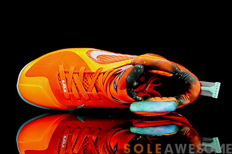 new concept 668d7 b8a25 ... Check out LeBron James8217 Glowinthedark AllStar shoes8230 Again ...