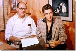 Elvis and Col Tom Parker
