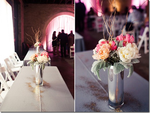 wedding-bouquet-romantic-love-cute-couple-romance-white-vintage-pink-glitter-flower-gold-centerpieces