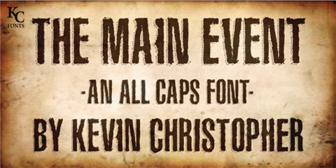 13-The-Main-Event-font