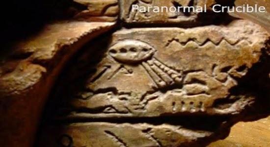 Artefatos alienígenas nave-alienígena
