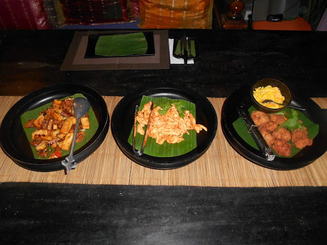 bliss sanctuary, food, balinese food