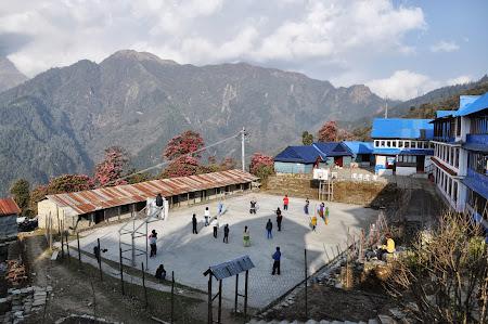 Trekking in Himalaya: Hotel Ghorepani