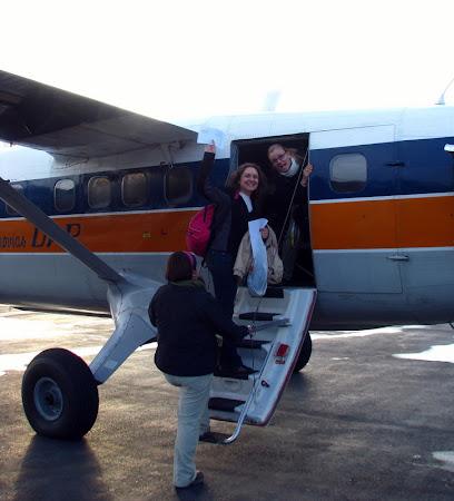 Iunia Pasca: Avion peste Patagonia