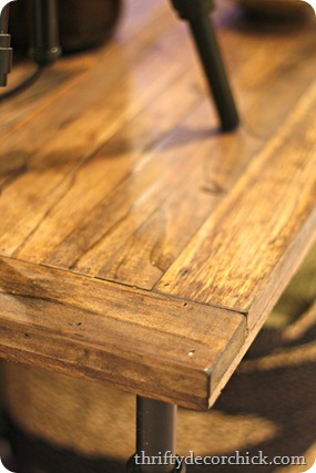 make your own wood tabletop