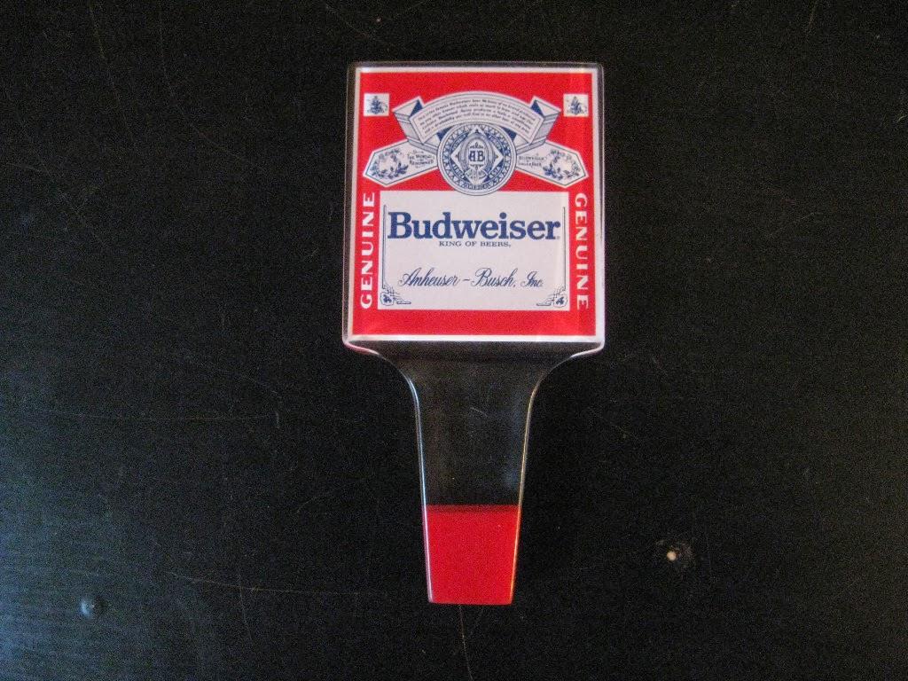 Budweiser Tap Handle Flipping A Dollar