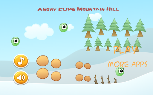 怒っているクライム·マウンテンヒルゲーム