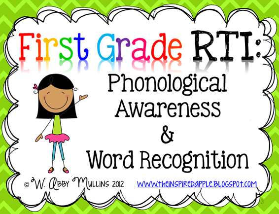 first grade RTI
