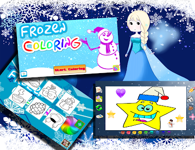 Game Frozen Coloring Book APK For Windows Phone
