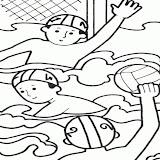 Waterpolo Dibujos Para Colorear