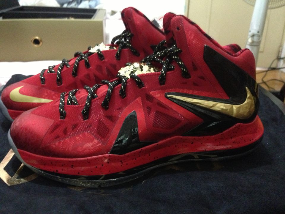 new arrival 242be 638f0 ... Nike LeBron X 8211 Celebration Pack 8211 Special Packaging ...