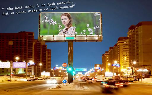 相框:广告牌版