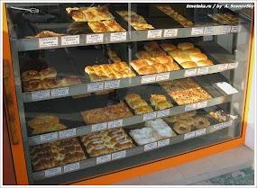 Цены на выпечку. Болгария. Фото А. Сосновский. www.timeteka.ru