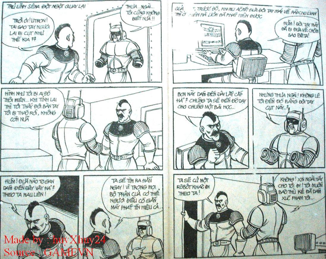 Dũng Sĩ Hesman chap 26 trang 3