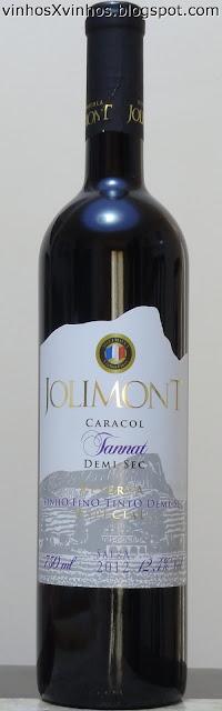 Jolimont Tannat Demi-sec