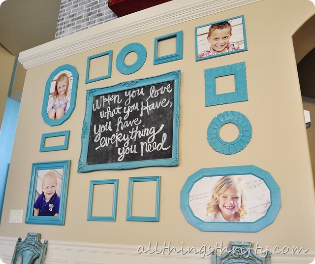 decorating with portraits gallery wall