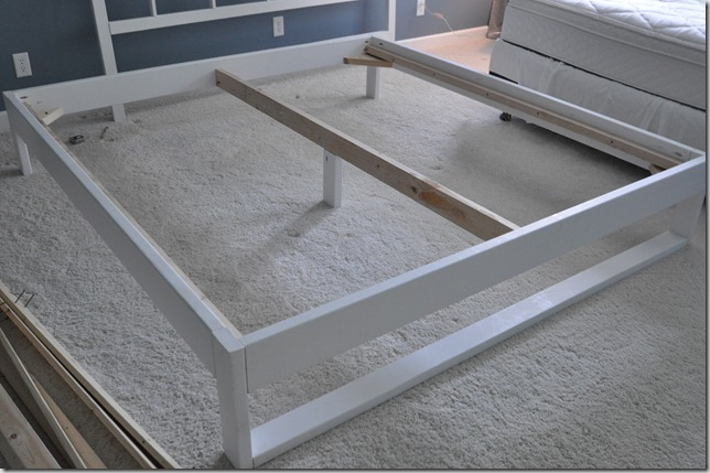 DIY Bed Frame Tutorial