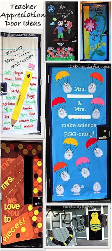 Classroom Ideas For New Teachers ~ Teacher appreciation door ideas g